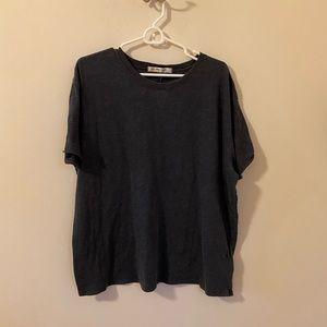 Free People soft gray T-shirt
